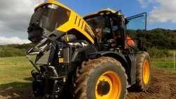 Трактор JCB Fastrac с двигателем AGCO SISU POWER
